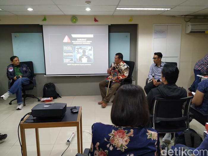 Suasana acara. Foto: Agus Tri Haryanto/inet
