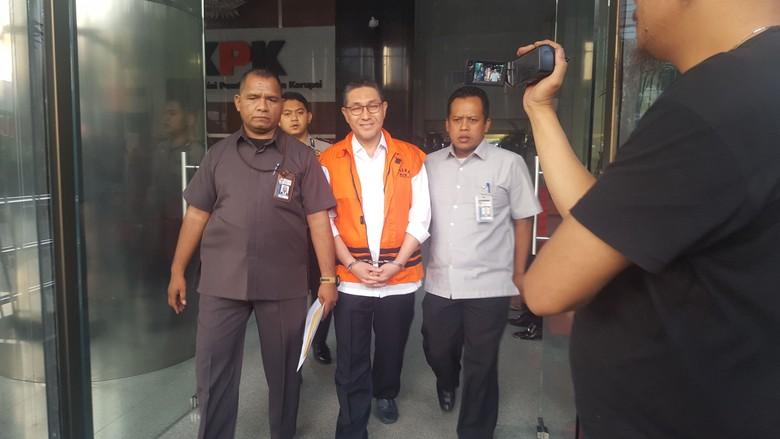 KPK Tahan Anggota DPR F-PAN Sukiman Tersangka Kasus Mafia Anggaran