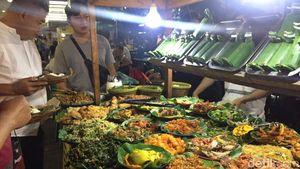 Nyam! Nasi Bakar Cakalang Suwir dan Risol Pedas di Lesehan di Blok M Square