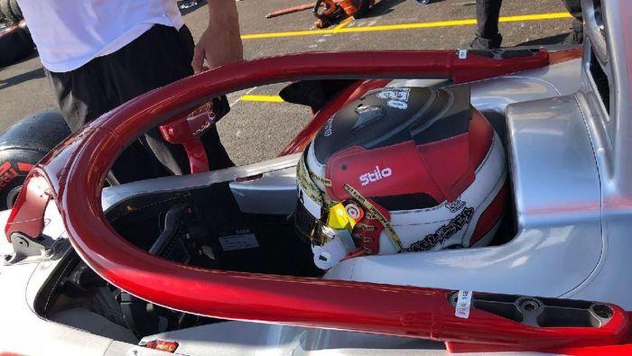 Sean Gelael siap balapan lagi di F2 Hongaria akhir pekan ini (dok.Sean Gelael)