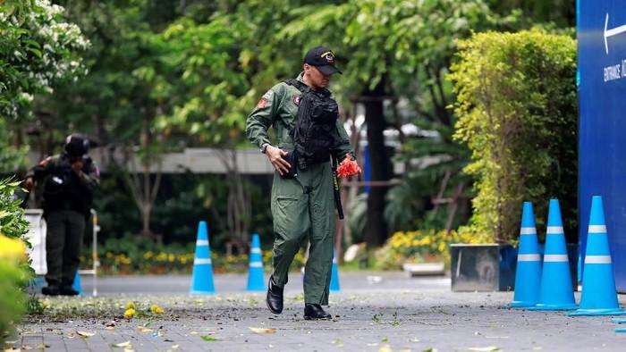 Ledakan di Bangkok (Foto: Reuters)