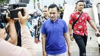 Ruben Onsu saat ditemui di studio Trans TV, Kapten Tendean, Jakarta Selatan pada Kamis (1/8). Pool/Palevi S/detikFoto.