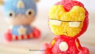 Gemas! 10 Bola Nasi Bentuk Pikachu dan Iron Man Ini Buatan Dokter