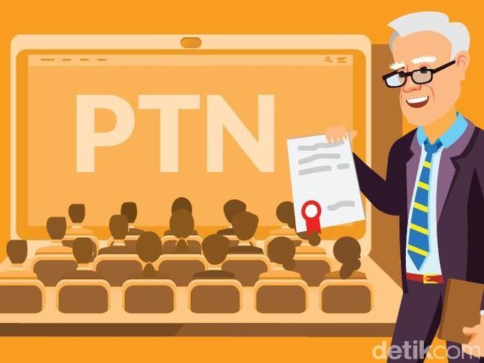 Ilustrasi Fokus Rektor Asing untuk PTN (Andhika Akbarayansyah/detikcom)
