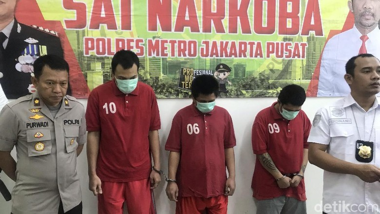 Polisi Bongkar Peredaran Kokain Jaringan Internasional