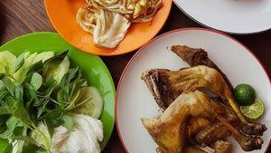 5 Pecel Ayam Lamongan Ini Punya Sambal Pedas Mantap