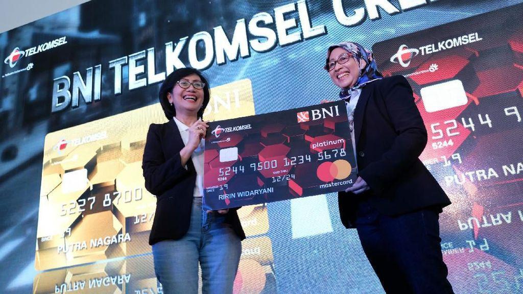 BNI Kenalkan Kartu Kredit Co-Branding dengan Telkomsel
