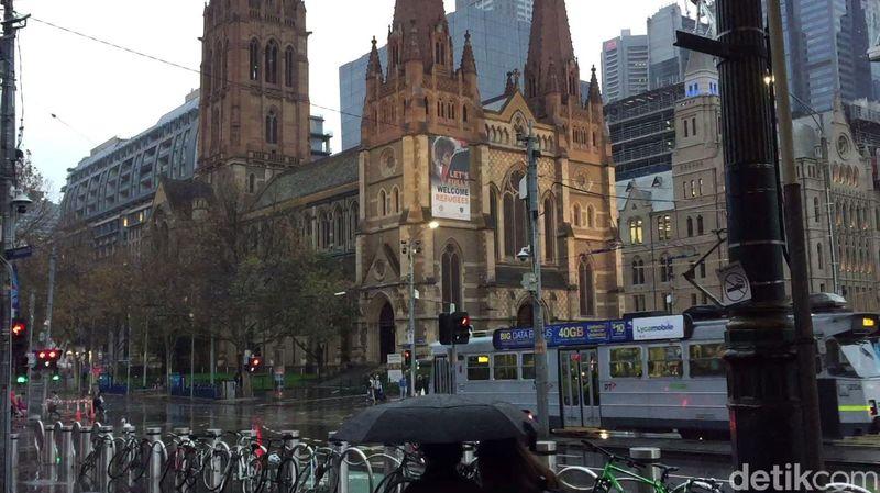 Saat berwisata ke Melbourne, Australia, kita akan menemukan beberapa hal menarik di sini. (Rahmayoga/detikcom)