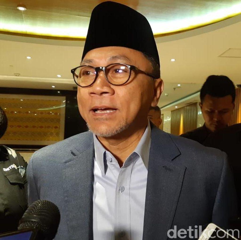 Zulhas soal Wacana Pemindahan Ibu Kota ke Kalimantan: Itu Biasa Saja