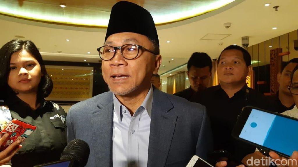 Bursa Caketum PAN, Zulkifli Hasan Siap Maju Lagi Jika Diminta DPW