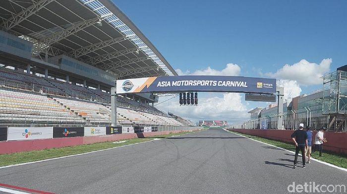 Penampakan Korea International Circuit setelah tak lagi menggelar F1 (Lucas Aditya/detikSport)