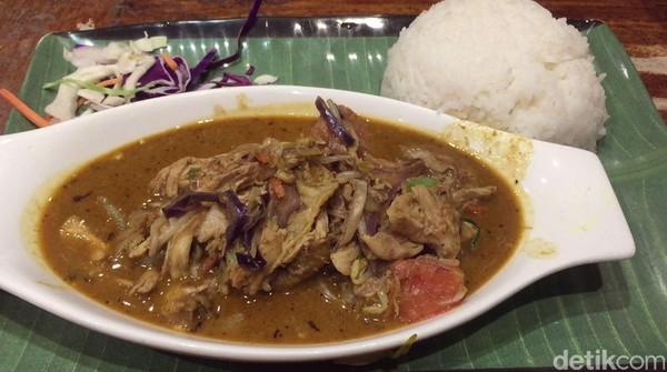 Saat memesan tongseng, harganya dibanderol sekitar Rp 150 ribu. Meski mahal, rasanya pas dan mengobati rindu masakan Indonesia di Melbourne. (Rahmayoga/detikcom)