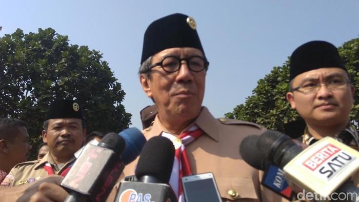 Menkum HAM Yasonna Laoly membuka Jampas 2019 di Lapas Klas IIa Tangerang