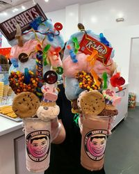 Wow! Ada Milkshake Raksasa dengan Berat 2,2 Kilogram