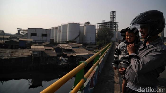 Anak-anak disebut kelompok rentan terhadap ancaman polusi udara. (Foto ilustrasi: Pradita Utama)