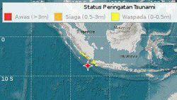 BNPB Update Korban Jiwa Gempa M 6,9 Banten: 4 Orang Meninggal Dunia