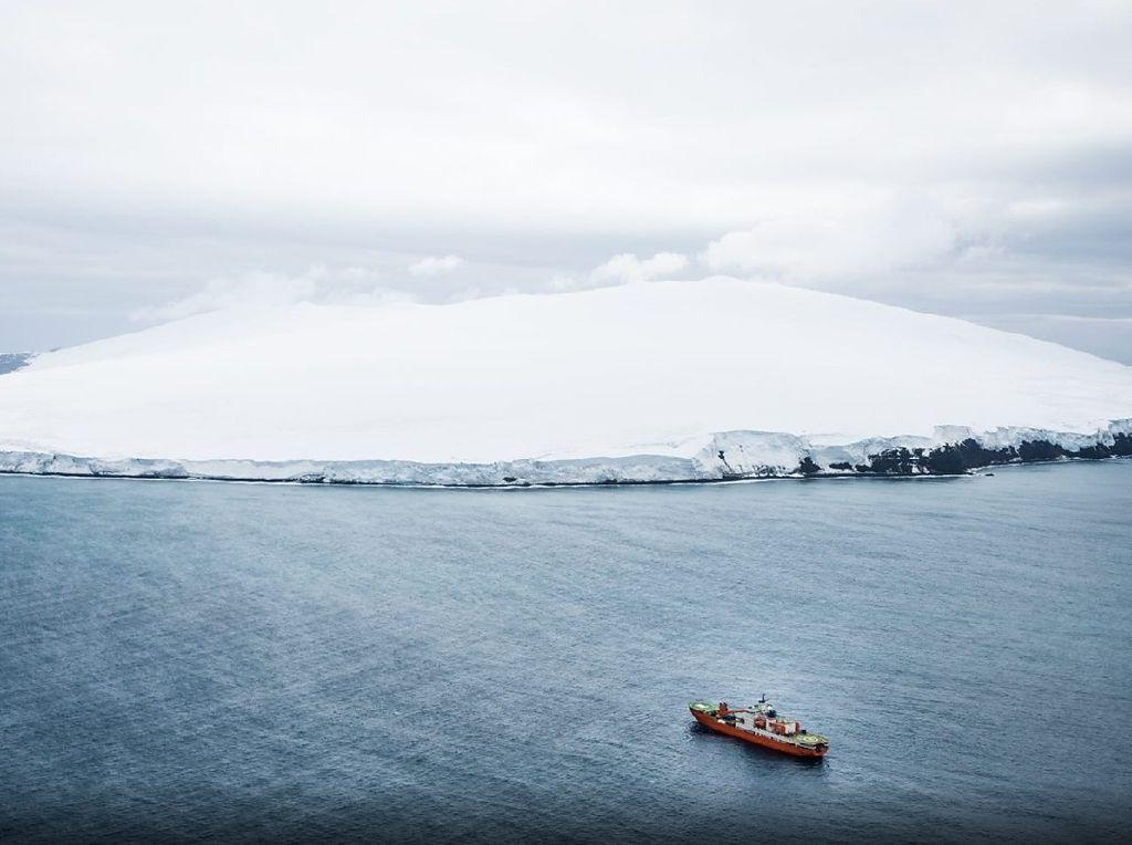 Foto: (British Antarctic Survey/BBC)