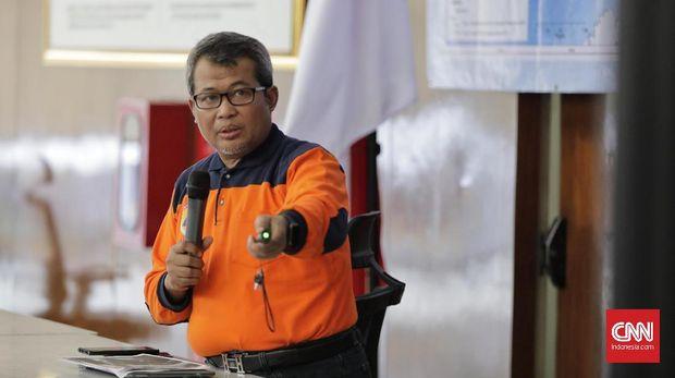 Plt Kapusdatin BNPB Agus Wibowo.