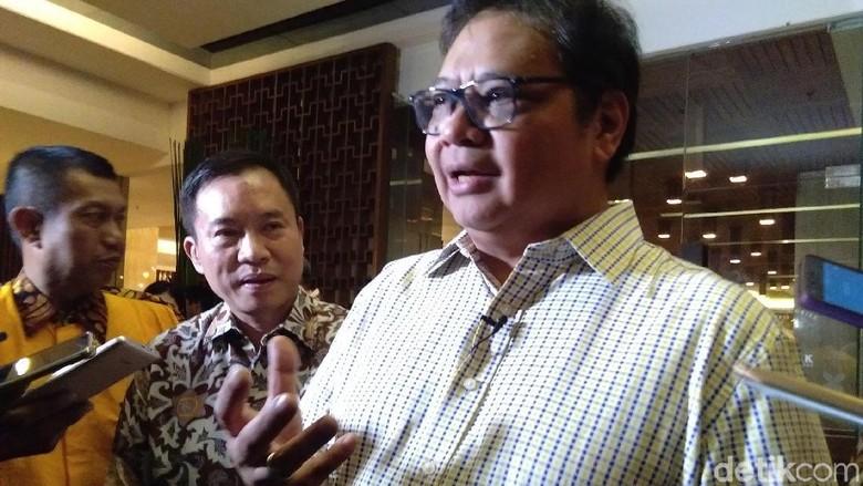 Airlangga Hartarto Foto: Usman Hadi/detikcom
