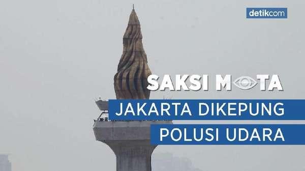 Jakarta Dikepung Polusi Udara