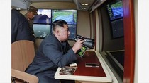 Diawasi Kim Jong-Un, Korut Uji Coba Peluncur Roket Super Besar
