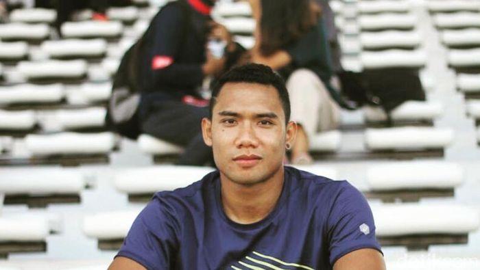 Pelari jarak pendek Sudirman Hadi (Mercy Raya/detikSport)