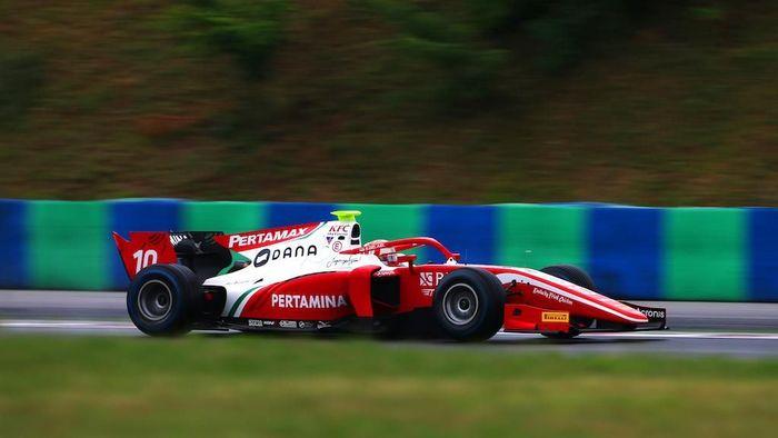 Sean Gelael start ke-16 di feature race F2 Hongaria (dok.Sean Gelael)