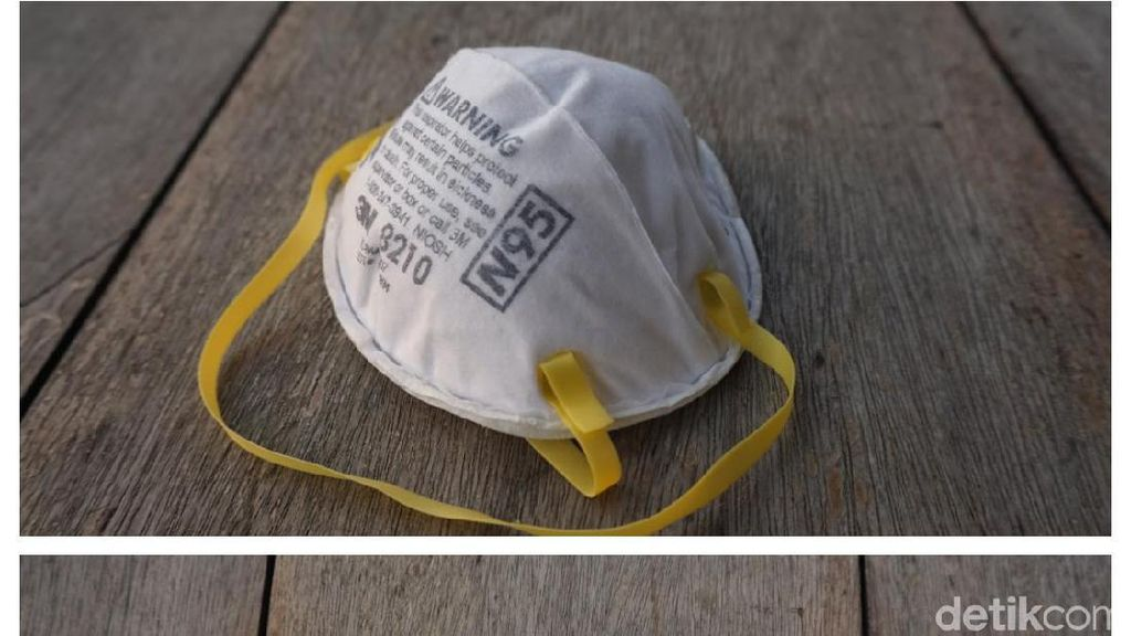 Masker N95 Vs Masker Ojol, Dokter Paru: Cara Pakai Lebih Menentukan