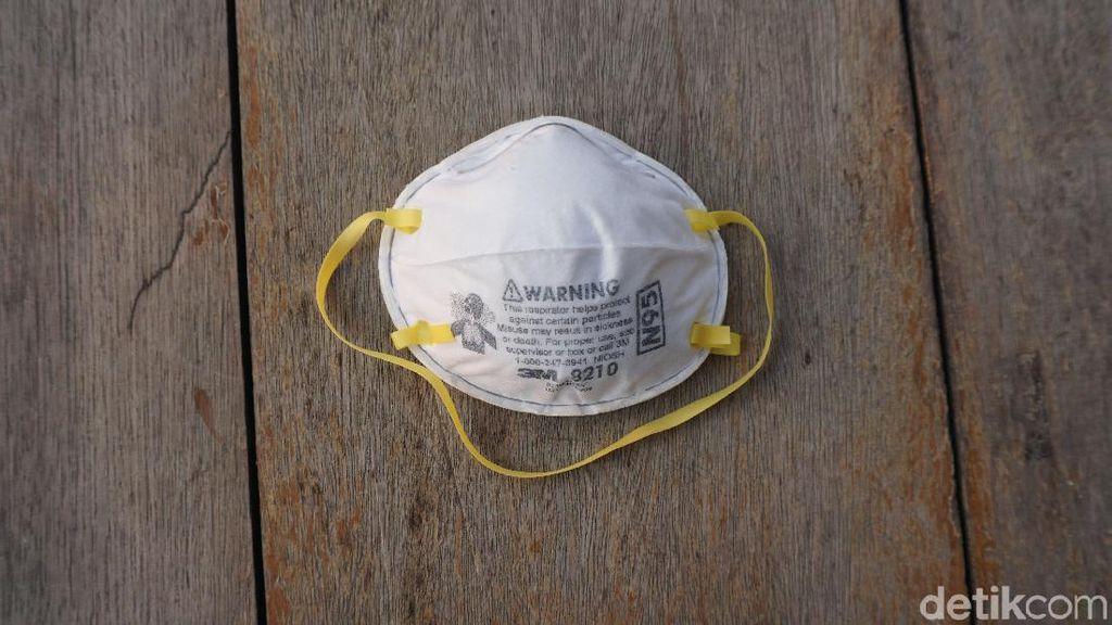 Bukan Masker Pantyliner, Ini Saran Dokter Bagi yang Terpapar Kabut Asap