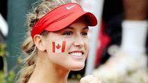 Awas Kena Smash Cinta dari Genie Bouchard, Si Malaikat Arena Tenis