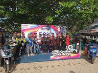 Serunya Puluhan Rider Komunitas Yamaha Touring di Belitung
