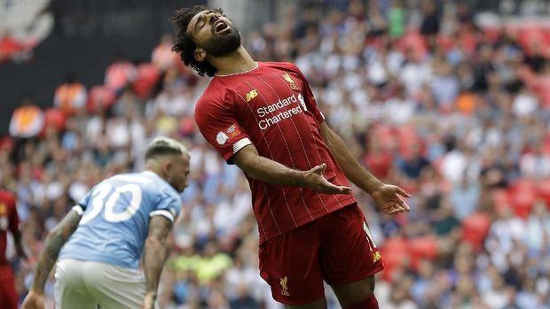 Liverpool tidak pernah kalah dari Man City di Anfield sejak 2004.