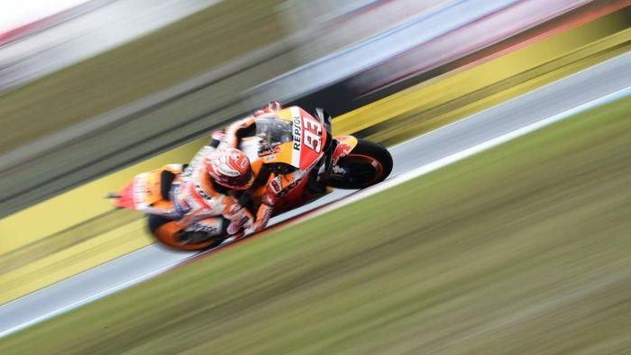 Marc Marquez belum pernah juara MotoGP Austria di Red Bull Ring (Foto: Michael Cizek / AFP)