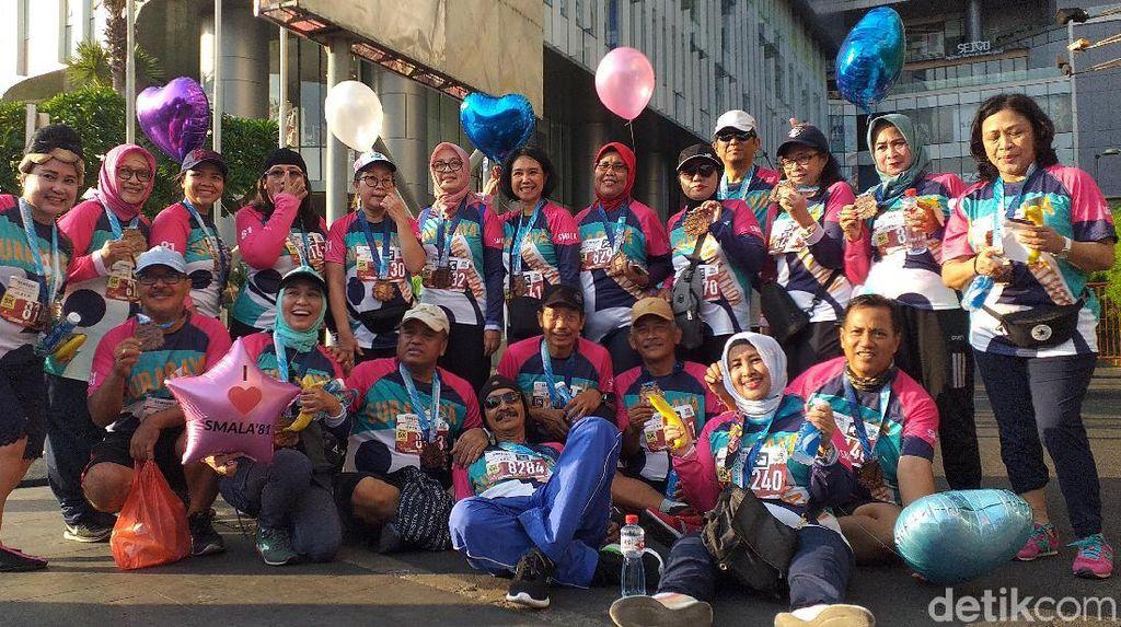 Ribuan Pelari Dalam dan Luar Negeri Ramaikan Surabaya Marathon