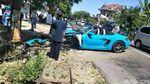 Penampakan Porsche Ringsek yang Viral di Magetan
