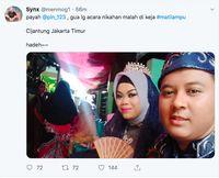 Listrik Padam Saat Akad Nikah, Netizen Curhat di Twitter