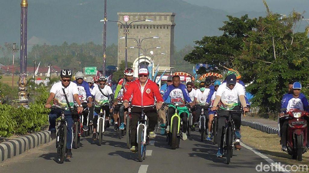 Gorontalo Punya Acara Sepedaan Keliling Obyek Wisata