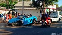 Kecelakaan Super Car di Magetan Berakhir Damai, ini Alasannya