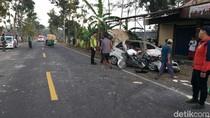 Kecelakaan Mobil Vs Bus di Purworejo, 2 Orang Tewas