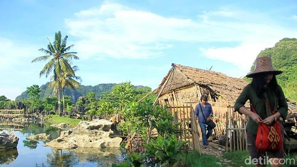 Sekitar 10 tahun lalu, 40 hektare Rammang-rammang sudah dilego ke pihak tambang marmer yang akan mengeksplorasi tempat ini (Moehammad Bakrie/detikcom)