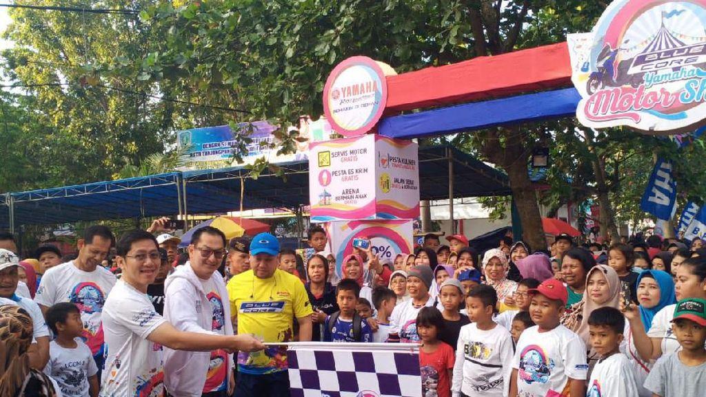 Bareng Barongsai, Ribuan Warga Belitung Antusias Ikut Fun Walk BYMS 2019