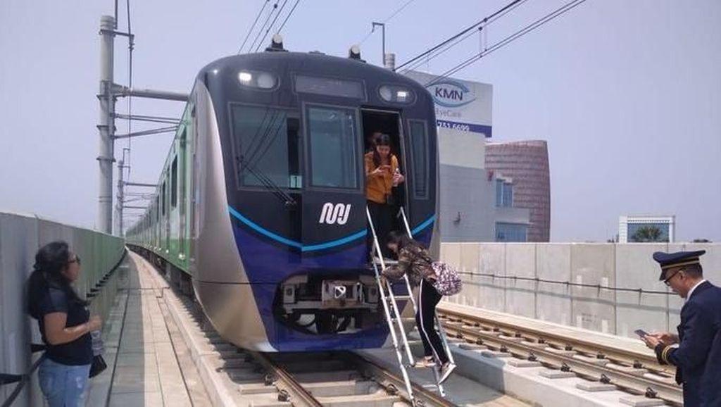 PLN Jamin MRT Jakarta Tak akan Mogok Lagi