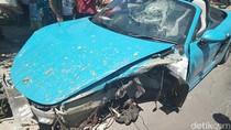 Musibah Jemput Istri yang Berakhir dengan Kecelakaan Super Car