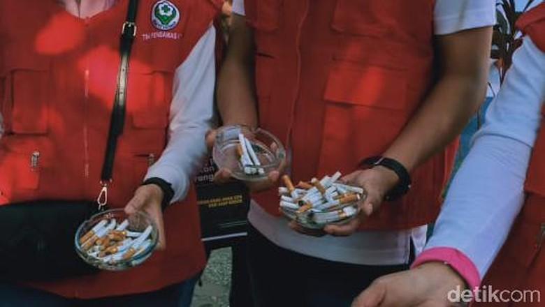 Car free day di Makassar tanpa rokok (Ibnu Munsir/detikcom)
