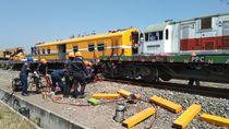 KA Barang Anjlok di Grobogan, Evakuasi Sudah Rampung Sore Ini