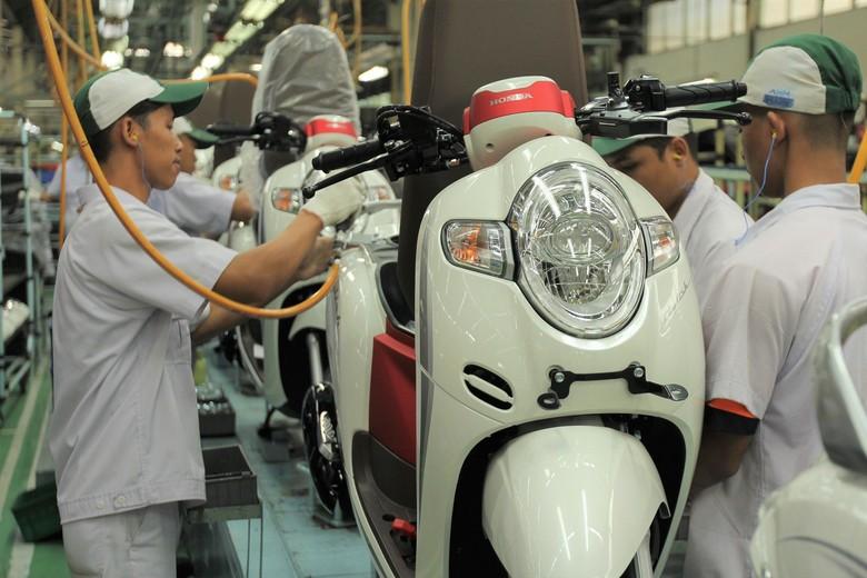 Honda Scoopy. Foto: Dok. Astra Honda Motor