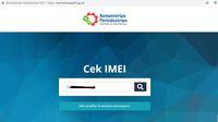Seluk Beluk Cek IMEI Ponsel BM atau Resmi di Situs Kemenperin