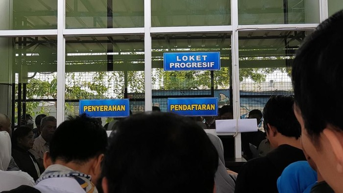 Loket progresif di Samsat Bekasi