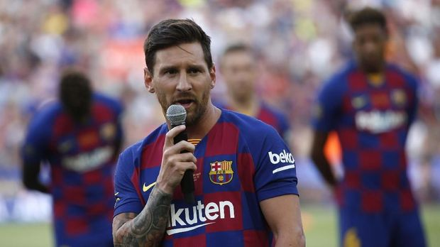 Messi menjadi ancaman serius Real Betis. (