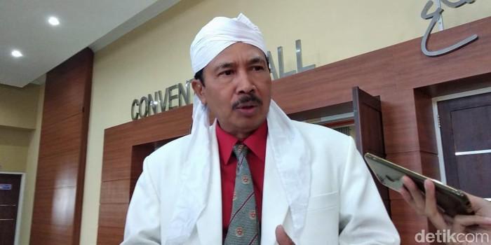 Rektor Universitas Islam Negeri (UIN) Sunan Kalijaga Yogyakarta, Yudian Wahyudi, Senin (5/8/2019).